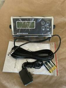 Optima Op 902 Digital Scale Display Head Monitor Read Out Indicator