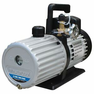 Mastercool 12 Cfm 2 Stage Deep Vacuum Pump Msc90612 2v 110