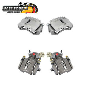 Front And Rear Brake Calipers For 1999 2000 2001 2002 Ford Mustang V6 V8 Base Gt