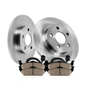 Rear Oe Disc Brake Rotors And Ceramic Pads For Mercedes Benz C250 C300