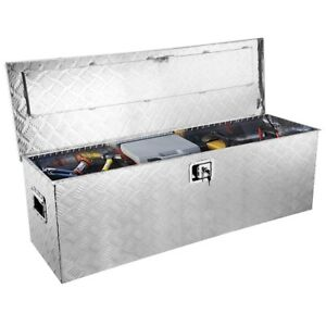 49 Aluminum Camper Tool Box Organizer Atv Pickup Truck Bed Rv Trailer Storage