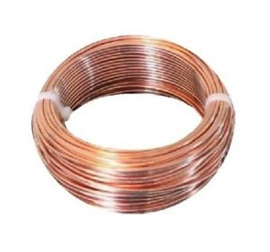 12 Ga 100 Ft Coil dead Soft Multiple use Un insulated Bare Round Copper Wire