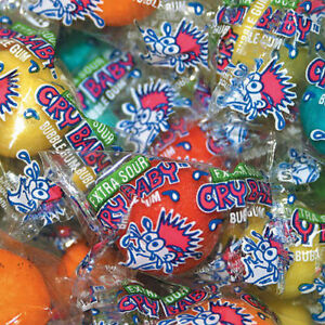 Dubble Bubble Cry Baby Sour Gumballs 850 Count