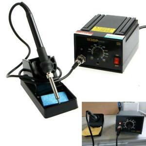 Electric Soldering Station Smd Rework Welding Metalworking Iron 110v 220v Tools