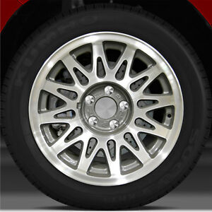 1998 2002 Lincoln Town Car 16x7 Factory Wheel Dark Argent Charcoal