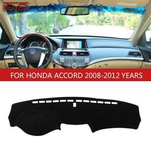 Fit For Honda Accord 8th 2008 2012 Dashmat Dashboard Cover Dash Cover Mat