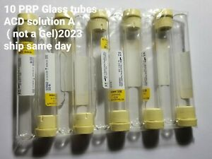 30 Xbd Vacutainer Collection Tubes Prp prf Acd 8 5ml ship Same Day