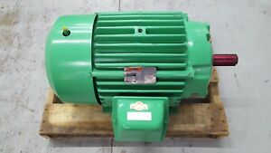 Reliance Duty Master 286t Ac Motor 30hp 1765rpm 230 460v E 2000 Energy Efficent