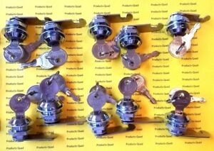 10 Keyed Alike 5 8 Inch Flat Cam Lock 5 8 Keyed Alike Cam Locks Free Ship