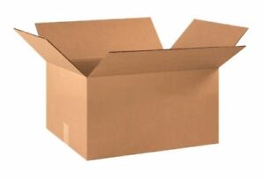 22x16x10 Cardboard Shipping Boxes Flat Corrugated Cartons pallet Of 250