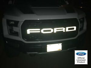Ford Raptor Svt F 150 Reflective Grille Letters Vinyl Stickers Decals 2018 Grill