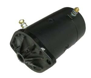 New Fisher Snow Plow Motor Dual Post Replaces A5819