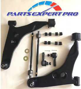 1993 1996 Mitsubishi Mirage Control Arm Tie Rod Rack End Sway Bar Link Kit