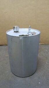No Name Stainless S s 3 Gal Gallon 11 Liter Liquid Tank Pressure Paint Pot