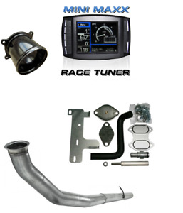 H S Mini Maxx Dpf Egr Delete Pipe Package For 2007 5 2012 6 7l Cummins
