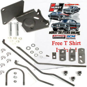 Hurst 3737131 1969 1970 Nova Chevy Ii Install Linkage 452 Muncie 4 Speed