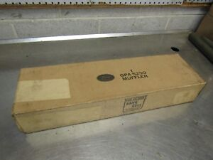 Jeep Willys Ford Nos Gpa Muffler In Original Box G503