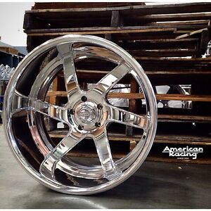 17x8 american Racing Forged Vf 485 Polished Wheel Chevy Ford Dodge Mopar Gm