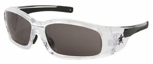 Crews Sr142af Swagger Safety Glasses Clear Frame gray Anti fog Lens 12 Pair