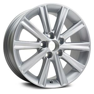For Toyota Camry 12 14 Factory Alloy Wheel 17 Replica 10 Spokes All Painted