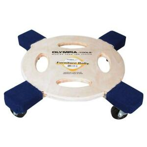Furniture Dolly 800 Lb Capacity Round Heavy Duty 4 Wheels Moving Supply Tool