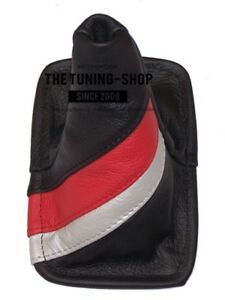 Shift Boot For Toyota Celica 1994 1998 Trd Stripes Leather