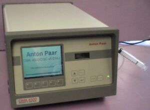 Anton Paar Dma 4500 Density Carboqc Concentration Brix Specific Gravity Mtr
