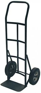Dolly Hand Truck 600 Lb Solid Tire Heavy Duty Metal Moving Cart Carry Milwaukee