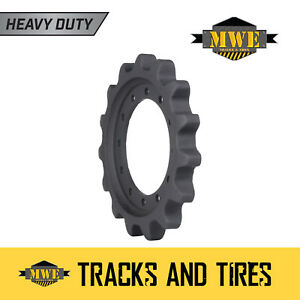 Fits Cat 259d Ctl Heavy Duty Mwe Sprocket Undercarriage