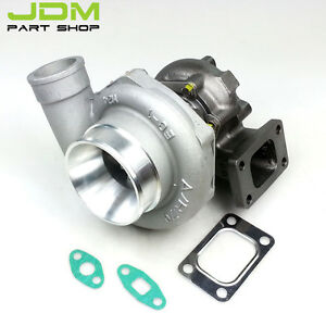 Gt35 A r 63 Comp A r 70 T3 Flange 400hp 5 Bolt Water Cooled Turbocharger