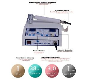Ultrasound Therapeutic Physical Therapy Machine 1 Mhz For Pain Relief U101 Uc1