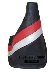 Shift Boot For Toyota Celica 1999 2005 Trd Stripes Leather