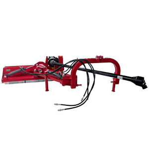 Titan 65 3 point Offset Flail Ditch Bank Mower