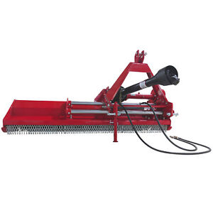 Titan 72 3 point Flail Mower With Hydraulic Side Shift