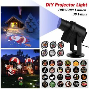 Actopp Christmas Light Projector 30pcs Gobos Hb Diy Led Projector Lights Indoor