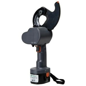 Greenlee Es100011 Battery powered Cable Cutter With 120 Volt Charger
