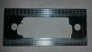 1950 S Tube Auto Radio Face Plate Trim Crome Vtg Blaupunkt May Also Fit Becker