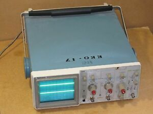 Tektronix 2213 60 Mhz 2 channel Analog Oscilloscope