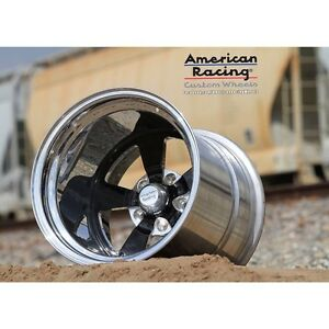 18x11 Vf 479 American Racing Forged Custom Bilt Ford Chevy Buick Olds Mopar