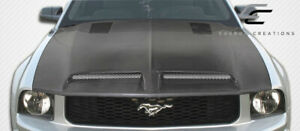 Carbon Creations Gt500 Hood 1 Piece For Mustang Ford 05 09 Ed106386