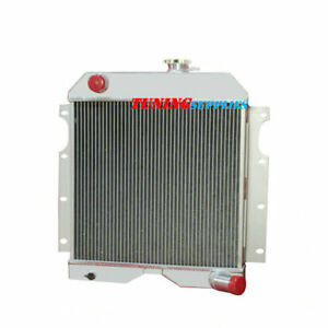 Best 3row Aluminum Radiator For 54 64 Jeep Willys Truck Utility Wagon 6 226
