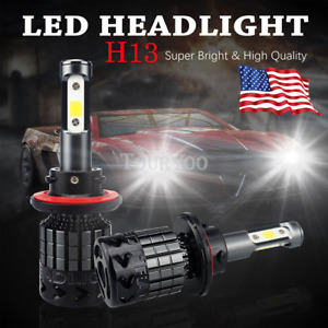 Car Truck H13 9008 Led Headlight Conversion Kit 16000lm Hi lo Beam Bulb 6000k