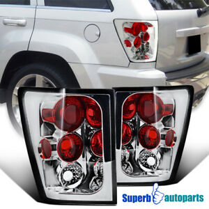For 2005 2006 Jeep Grand Cherokee Replacement Tail Lights Brake Lamps