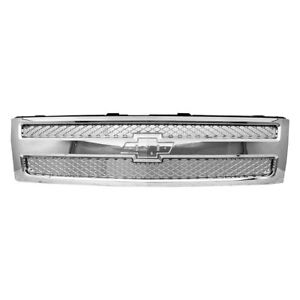For Chevy Silverado 1500 2012 2013 Replace Gm1200655n Grille