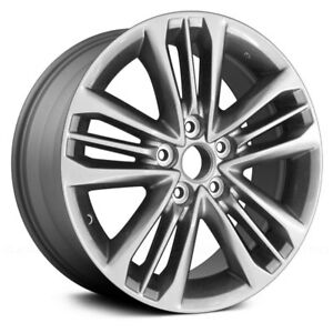 Toyota Camry 17 All Painted Dark Silver Metallic Factory Alloy Wheel