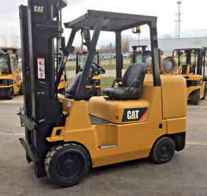 Caterpillar Cushion Gc45k 10 000lb Forklift Lift Truck