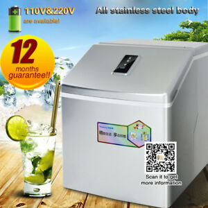 25kg Commercial Ice Machine automatic Ice Maker Machine With 24pcs Ice times