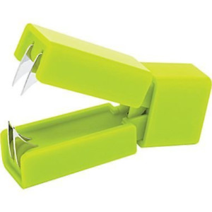 Poppin Staple Remover Lime Green