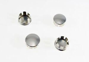 4 Pack 1 Od 874 904 Id Nickle Plated Steel Round Tubing Plugs S70 32np