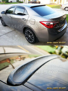 2014 2017 All Color Painted Toyota Corolla 11 K style Visor Roof Spoiler Wing